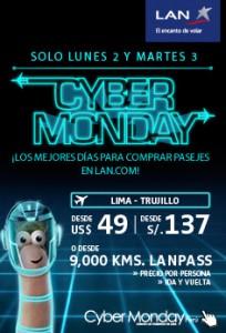 LAN Peru solo por 2 días Lima/Trujillo  ida y vuelta S/. 137