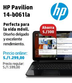 HP ONLINE STORE – HP NB PAVILION 14-B061LA