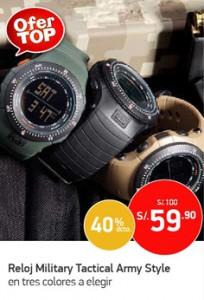 OferTOP Reloj Army Style digital para hombre