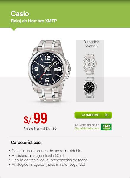 Casio Reloj Hombre Regular