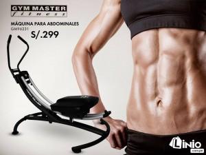 Gym Master – Máquina para Abdominale a solo S/.299 soles