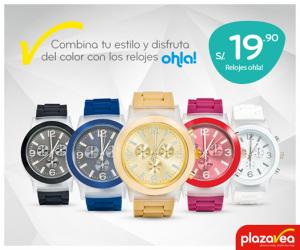 Plaza Vea – Relojes Ohla!