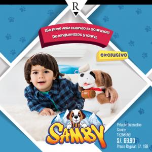 Ripley – Peluche interactivo Samby