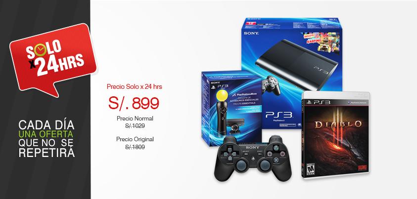 Saga Falabella – PS3 de 12 GB a sólo S/.899