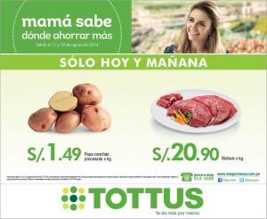 Tottus – Bistec x Kg a S/.20.90