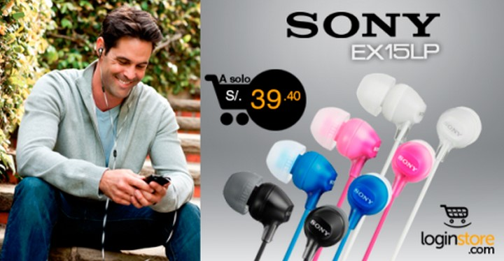 Loginstore – Sony EX15LP a solo S/.39.40