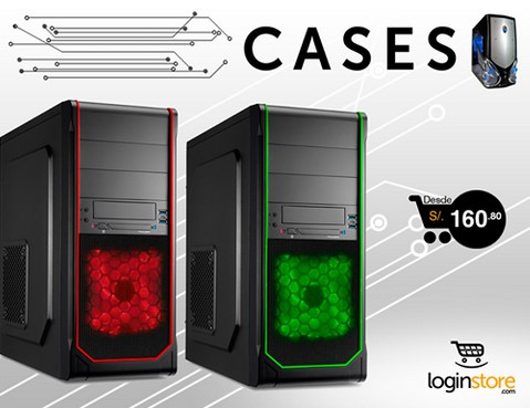 Loginstore – Cases especiales desde S/.160