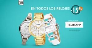 Linio – 15% de descuento en relojes