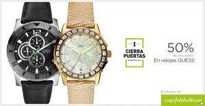 Saga Falabella – 50% de descuento en relojes Guess