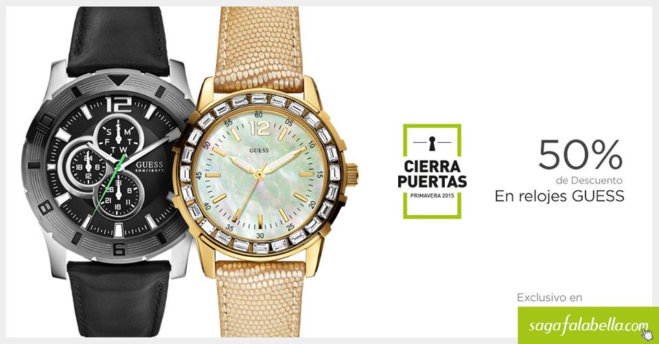 reloj guess mujer falabella