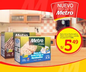 Metro – Barras de arroz a sólo S/.5.49