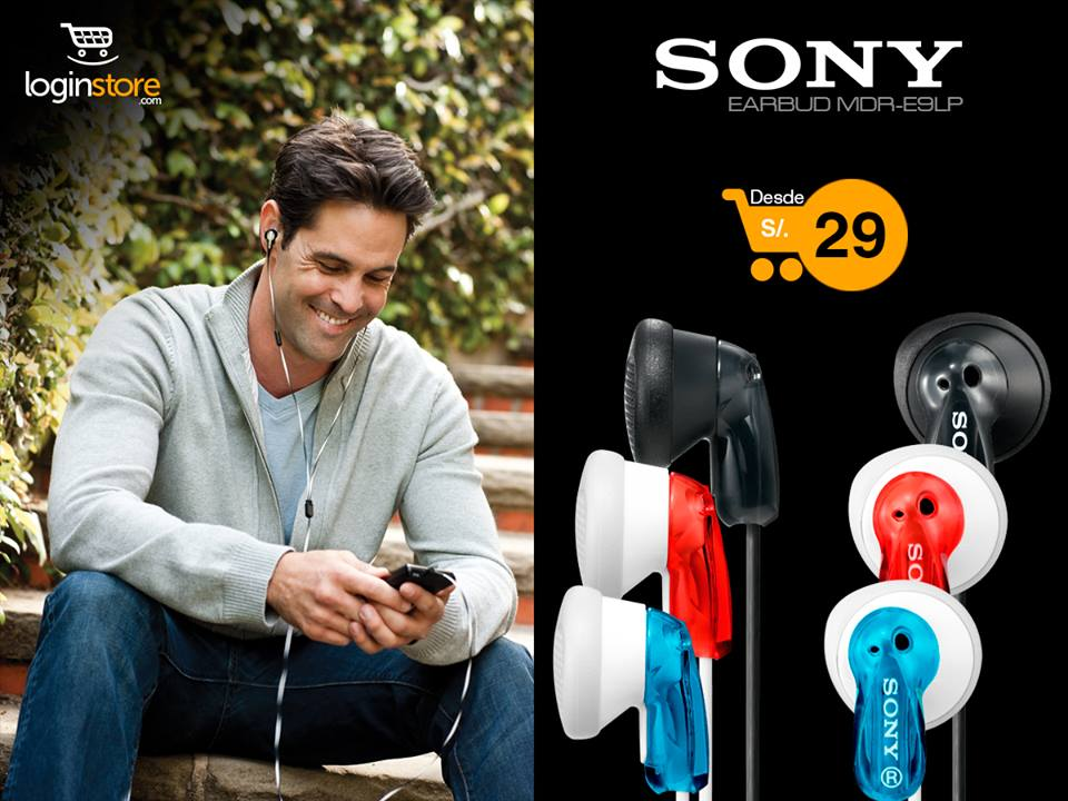 Loginstore – Auriculares Sony desde S/.29