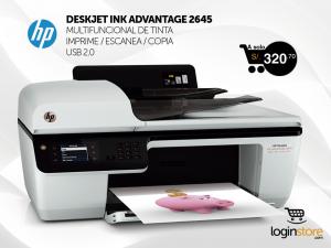 Impresora HP multifuncional a sólo S/.320.70