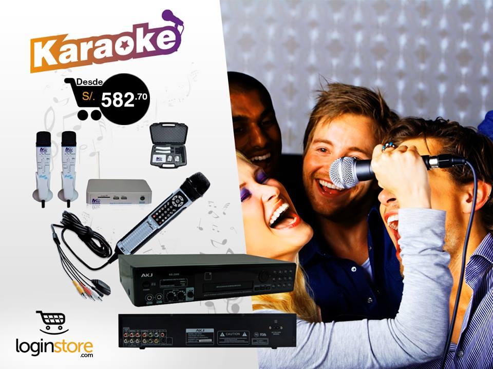Karaoke desde S/.582.70
