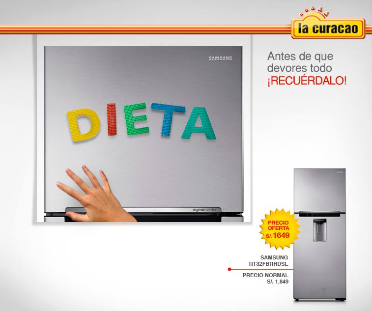 La Curacao – Refrigeradora Samsung a sólo S/.1649