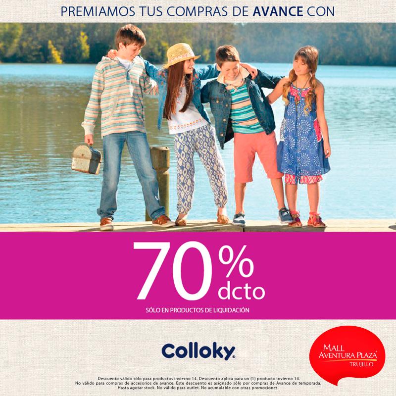 70% de descuento en Colloky