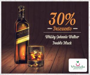 Vivanda – 30% de dcto. en whisky Johnnie Walker Double Black