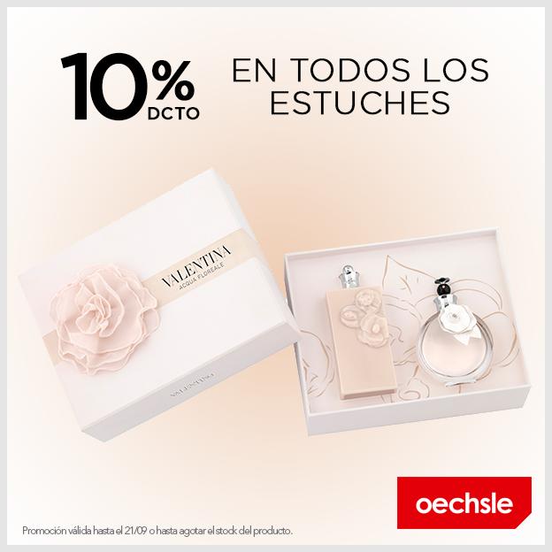 Oechsle – 10% de descuento en todos los estuches Valentina