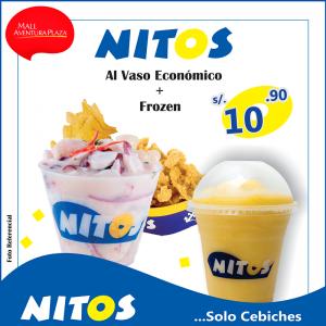 Mall Aventura Plaza – Ceviche Nitos a sólo S/.10.90