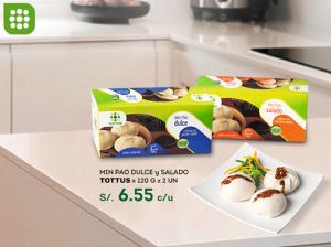 Tottus – Min Pao dulce y salado a sólo S/.6.55
