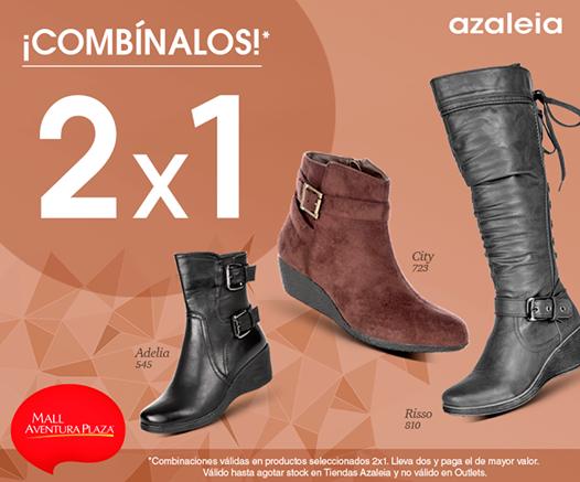 2 x 1 en calzado AZALEIA