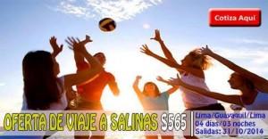 OFERTA DE VIAJE A SALINAS desde $565