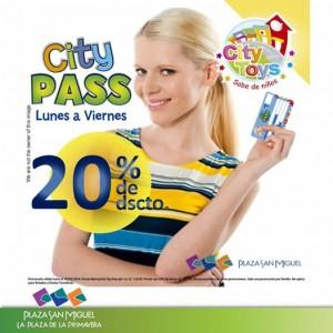 Plaza San Miguel – 20% de dcto. en el Citypass