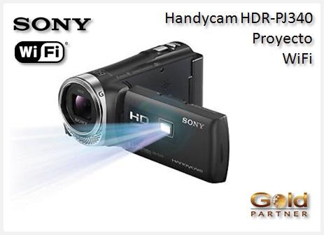 Gold Partner Perú – Handycam HDR-PJ340 con Proyector y Wifi a S/. 1,787
