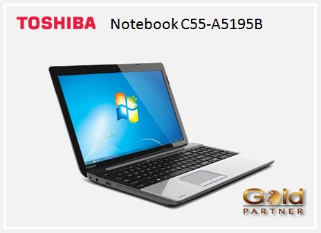 Gold Partner Perú – Notebook Toshiba Ci3 C55-A5195B a S/. 1,522