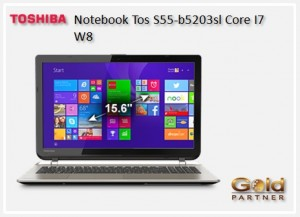 Gold Partner Perú – Notebook Toshiba S55-b5203sl Core I7 W8 a S/. 3,311