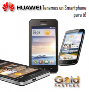 Gold Partner Perú – Smartphone Huawei desde S/. 319.00