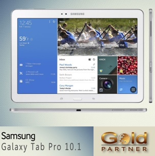 Gold Partner Perú – Samsung Galaxy Tab Pro 10.1 White a solo S/. 1,754.00