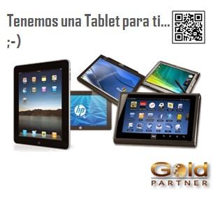 Gold Partner Perú – Tenemos una Tablet para ti