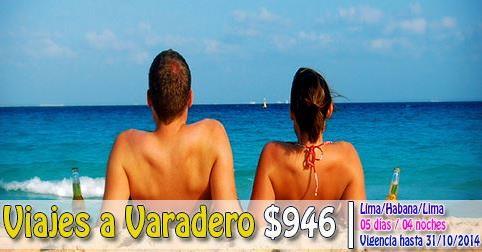 Paquete a Turistico Varadero desde $946