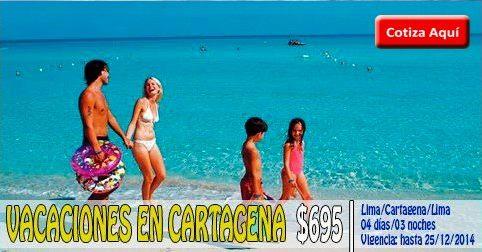 Paquete Turístico a Cartagena desde $695