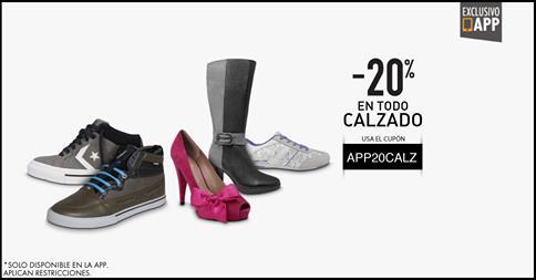 20% de descuento en todo calzado en Linio