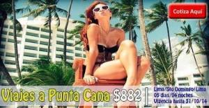 Viaja a Punta Cana al mejor precio desde $882