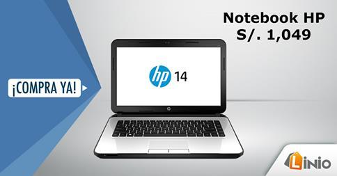 Linio – Notebook HP a sólo S/.1049