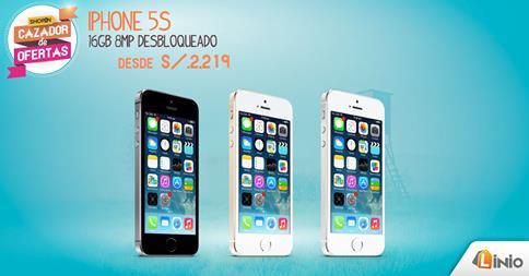 IPHONE 5S desde S/.2,219