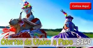 Paquetes Turistico a Puno desde $340
