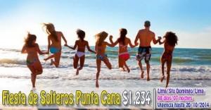 Fiesta de Solteros en Punta Cana desde $1,234
