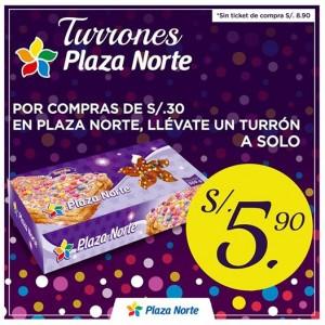 Turrón de Doña Pepa Plaza Norte a sólo S/.5.90