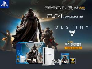 PS4 + Destiny a sólo S/. 1899.00