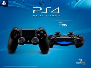 Dualshock PS4 a sólo S/.195
