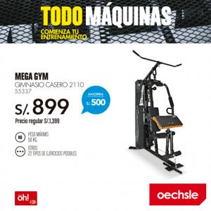 Mega gym a sólo S/.899