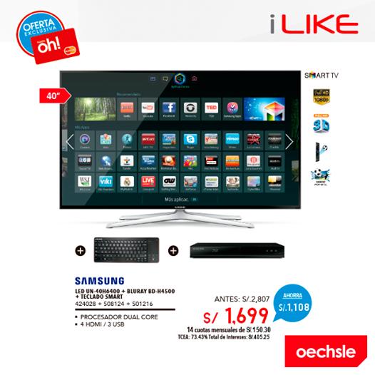Samsung LED 40″ a sólo S/.1699