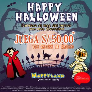 Happy Halloween en Happyland