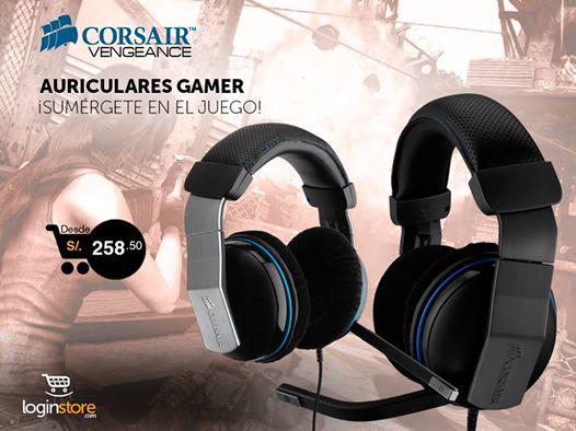 Auriculares Gamer desde S/.258.50