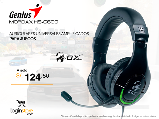 Audífonos Multi-Gamer a sólo S/.124.50
