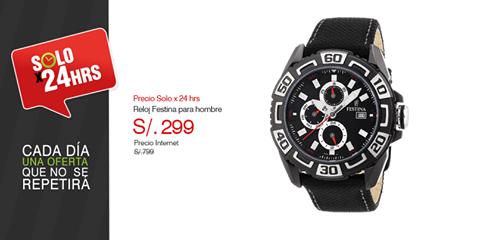 Reloj para hombres a sólo S/. 299